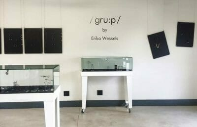 Erika Wessels Contemporary Jewellery - /gru:p/ solo exhibition at Tinsel Gallery
